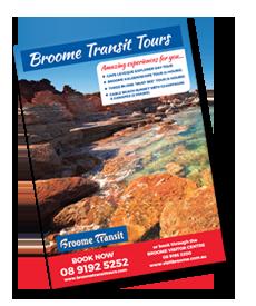 Broome Transit Tours Brochure
